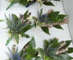 Thistle & Heather Buttonholes