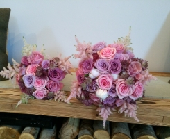 Pink & Lilac Handtied