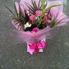 Hand-tied Bouquet in water -