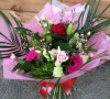 Red and Pink Hand tied Bouquet -