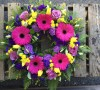 Vivid Coloured Wreath ring -