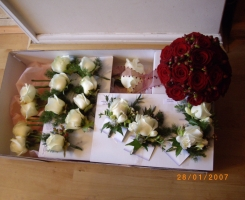 Buttonholes for delivery