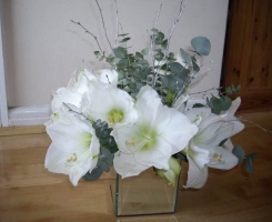 White Silver arrangement F