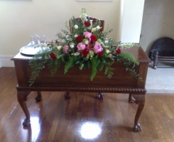 Top table arrangement Fontwell