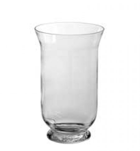 Glass Hurricane Vases -