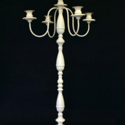 Cream Candelabra - 92cm tall
