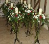 Black Wrought Iron Stand - Black wrought iron stand