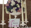 Cream Candelabra - 92cm tall -