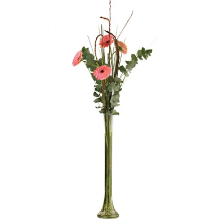 Lily Vases 60cm - Clear glass lily vase