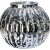 Silver - Mirrored Glassware -