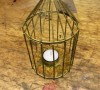 Tea Light Bird Cages -