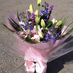 Large Hand-tied Bouquet in Presentation Box