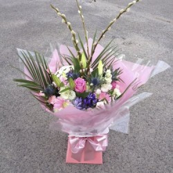 Hand-tied Bouquet in water